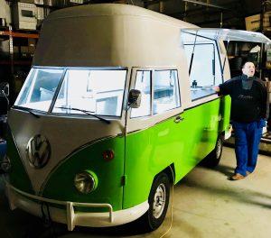 Happy Frites Food Truck Van VW